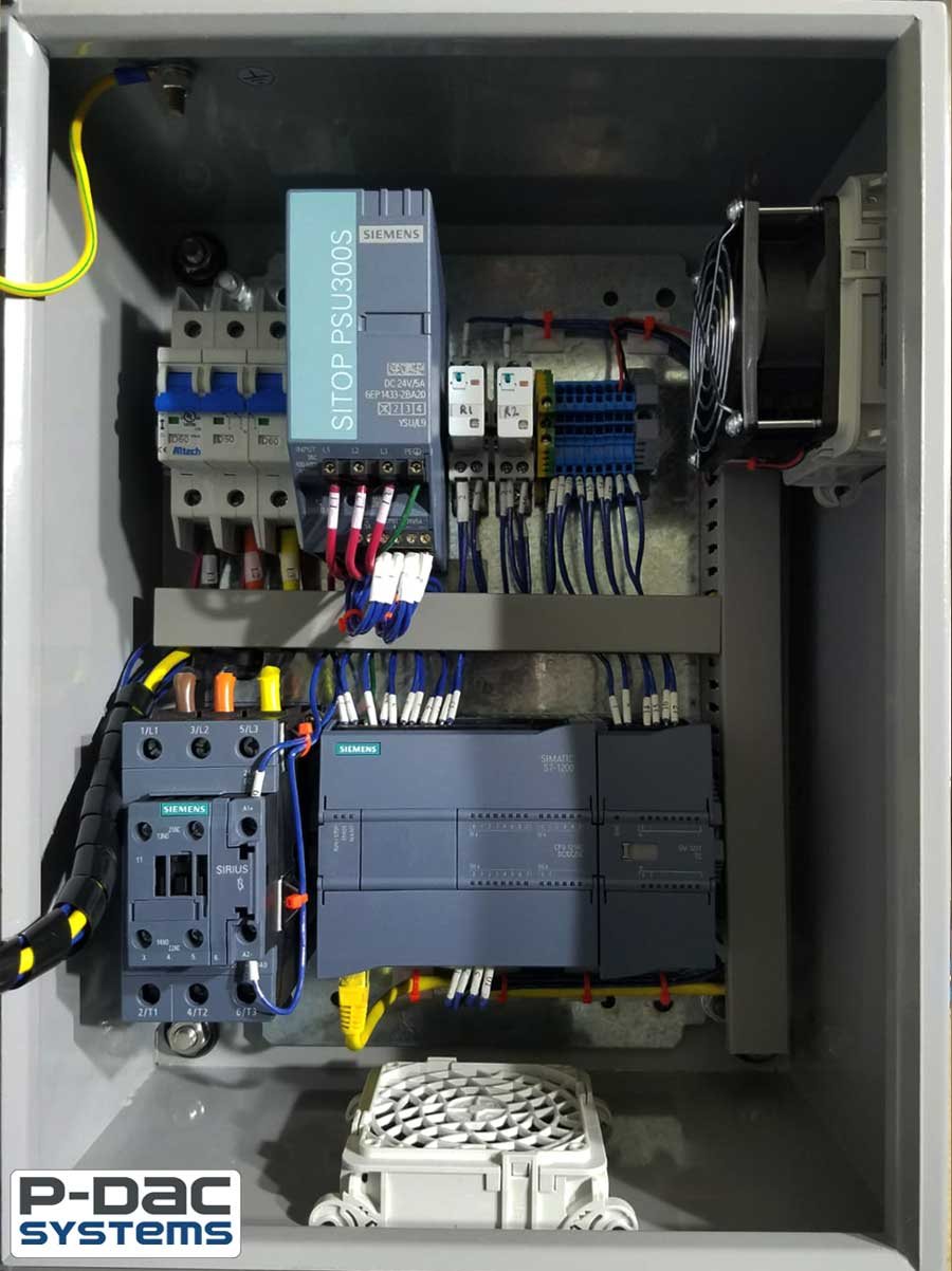 PLC Control Panel for Pump System Inside Box