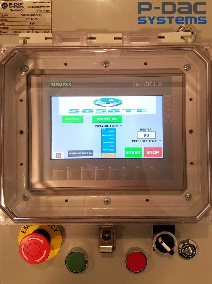 OLC Controller HMI Interface View
